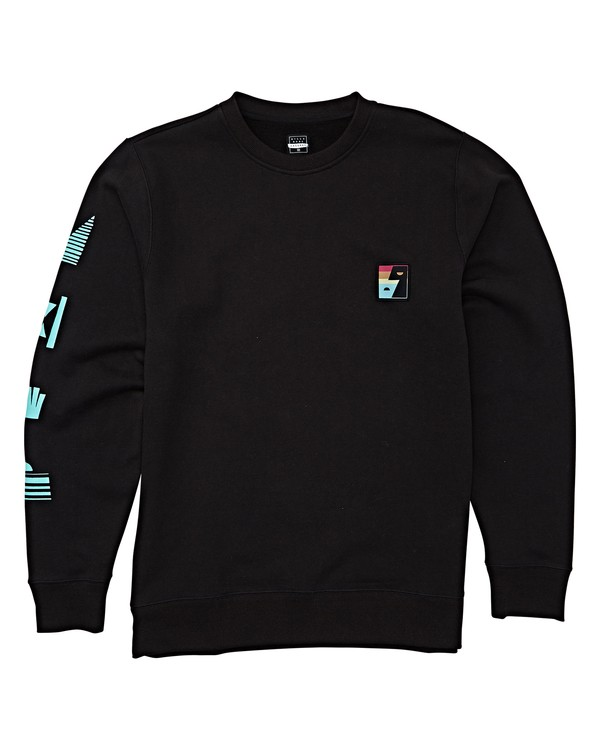 0 DIALOGUE SWEATSHIRT Black M613WBTL Billabong
