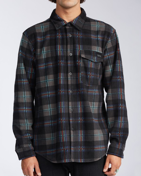 0 Furnace Flannel Black M6273BFF Billabong