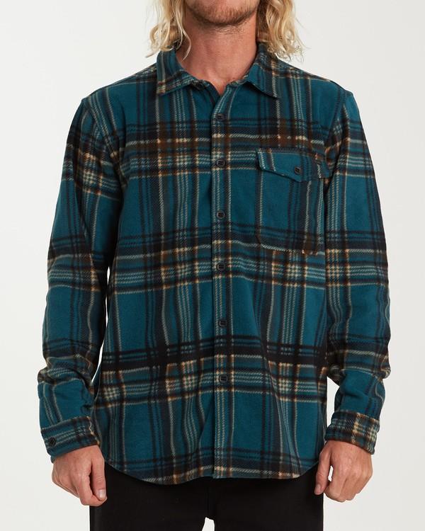 0 Furnace Flannel Shirt Green M627VBFF Billabong