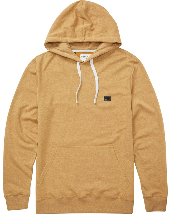 0 All Day Pullover Hoodie Yellow M640QBAP Billabong