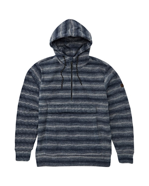 0 Boundary Fleece Hoodie Blue M640QBBO Billabong