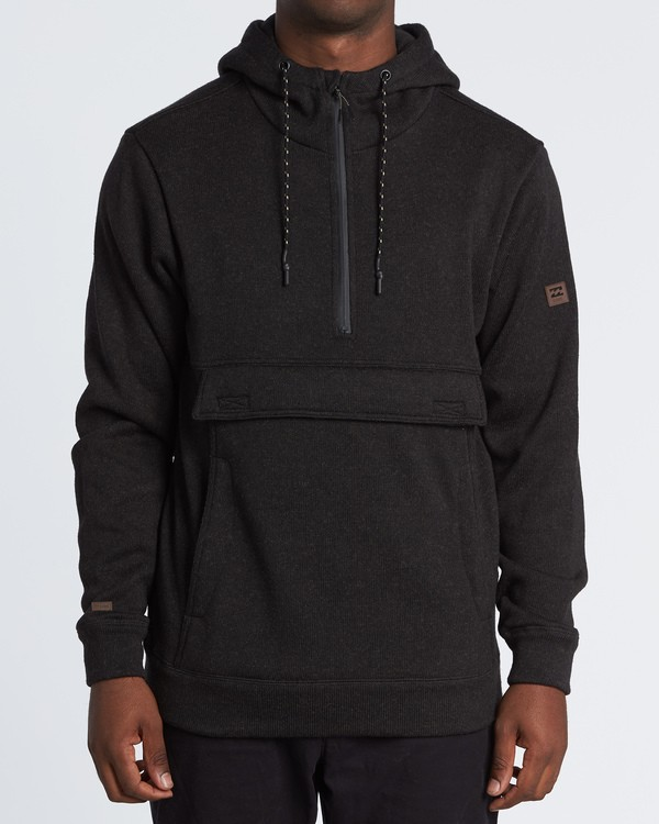 0 Boundary Pullover Hoodie Black M640QBBO Billabong