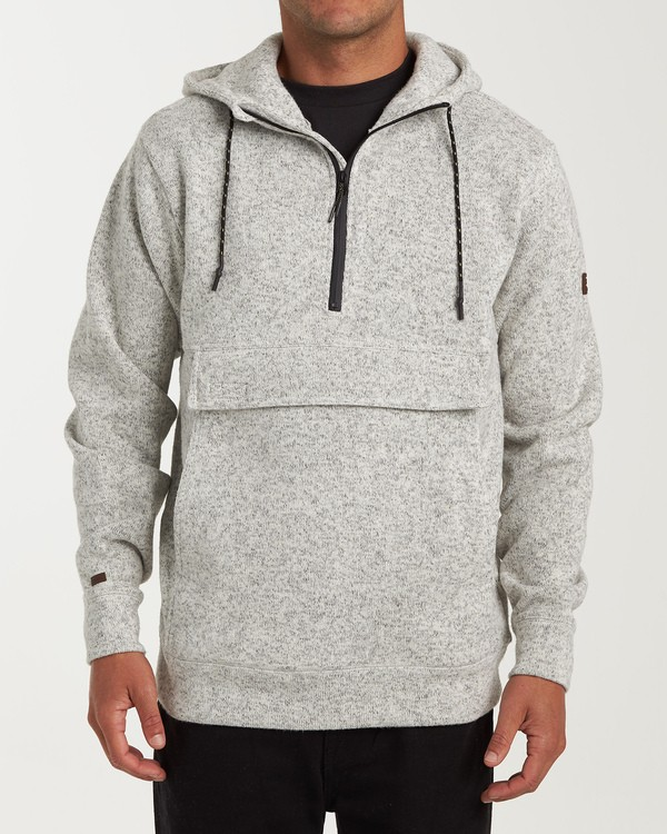 0 Boundary Pullover Hoodie Grey M640QBBO Billabong