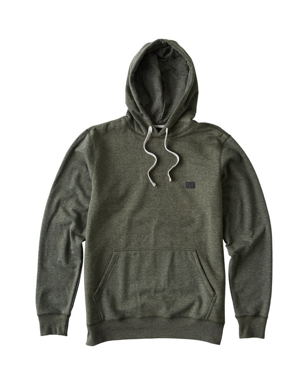 0 All Day Pullover Hoodie Brown M640VBAP Billabong