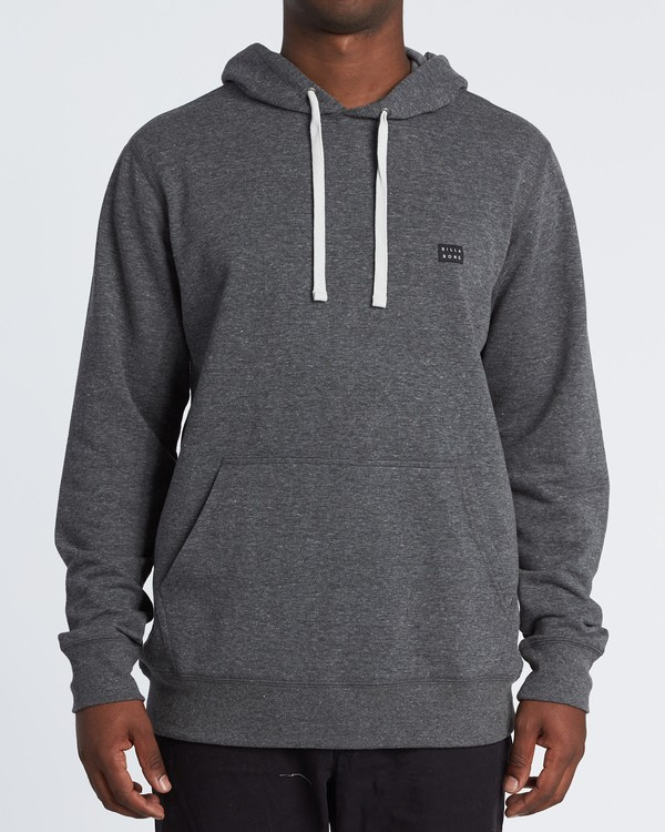 0 All Day Pullover Hoodie Black M640VBAP Billabong