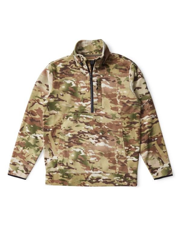 0 Boundary Multicam Polar Fleece Jacket Camo M640VBMC Billabong