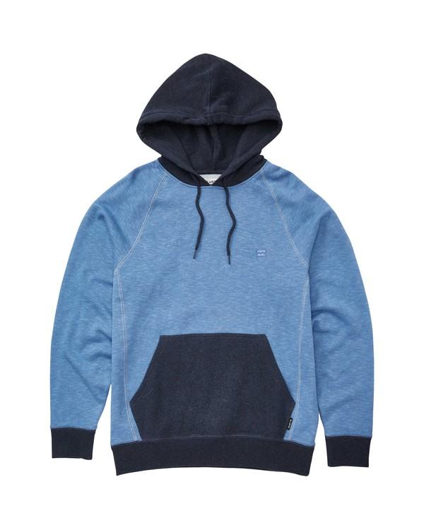 0 Balance Pullover Hoodie Blue M645QBBP Billabong