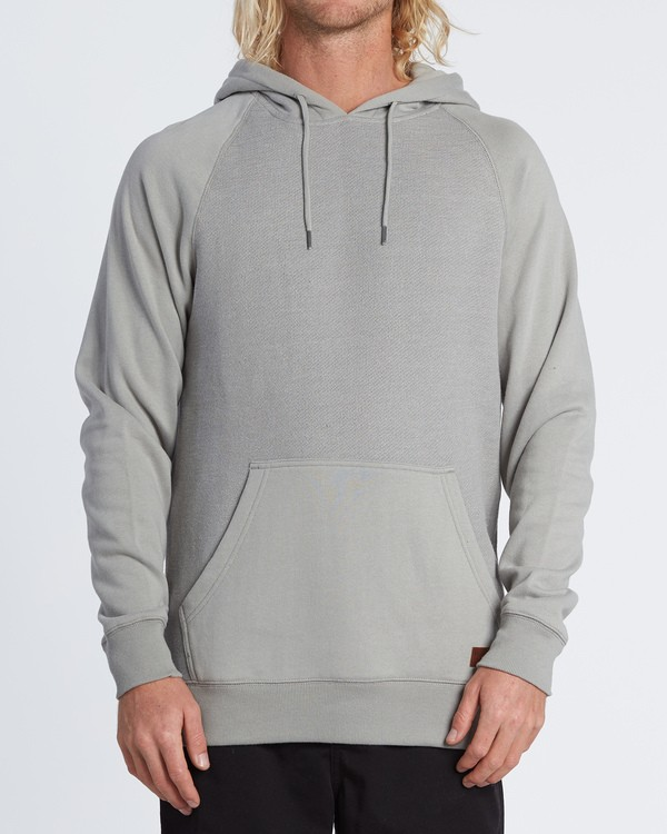0 Balance Pullover Hoodie Grey M645VBBP Billabong