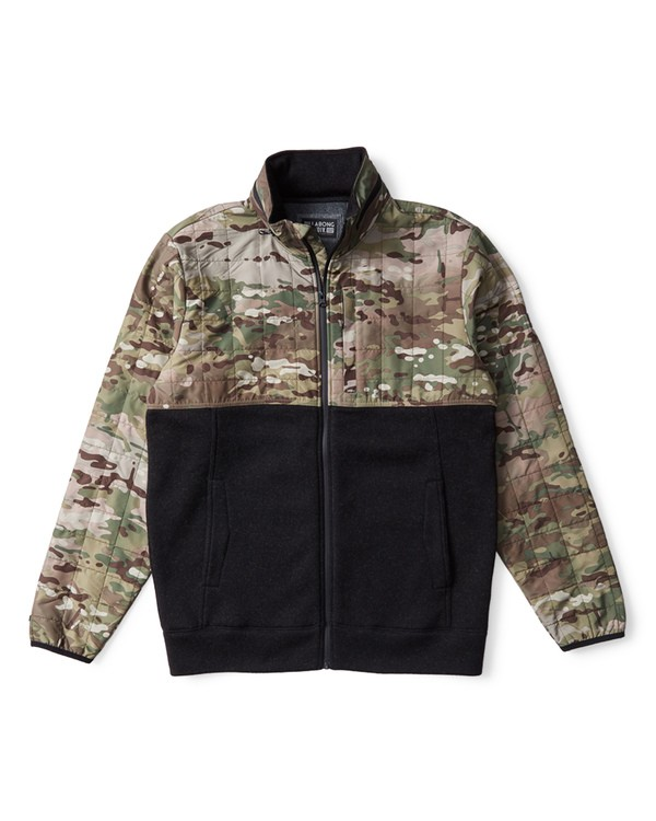 0 Boundary Zip Multicam Jacket Camo M660VBMC Billabong