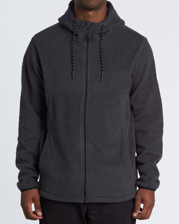 0 Boundary Brushed Zip Hoodie Black M660WBBZ Billabong