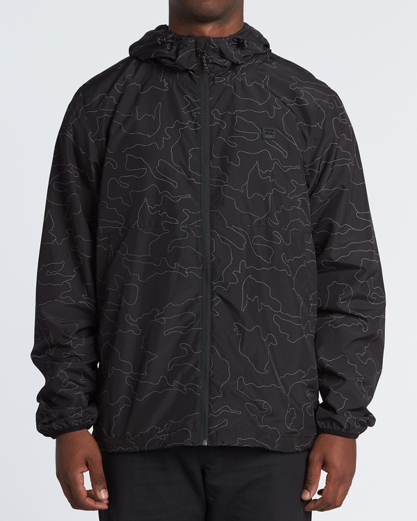 0 Transport Print Jacket Black M7021BTR Billabong
