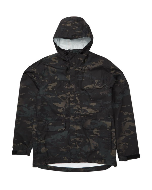 0 Bunker Multicam Jacket Black M705TBBC Billabong