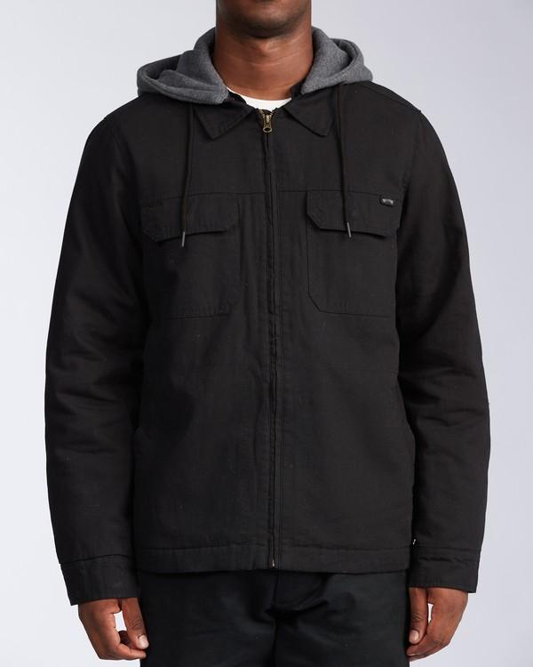 0 Barlow Twill Jacket Black M7063BBT Billabong