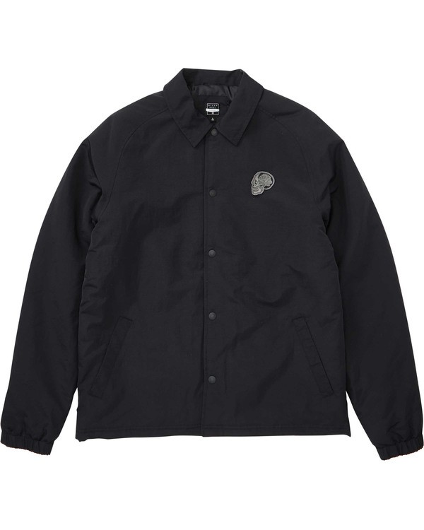 0 Bone Thrower Ocular Jacket Black M708TBBO Billabong