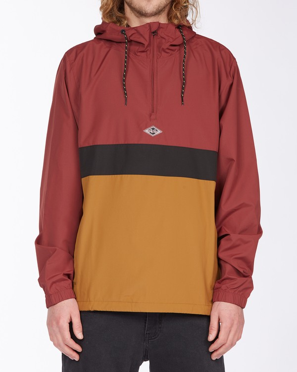 0 Wind Swell Anorak Jacket Red M7103BWI Billabong
