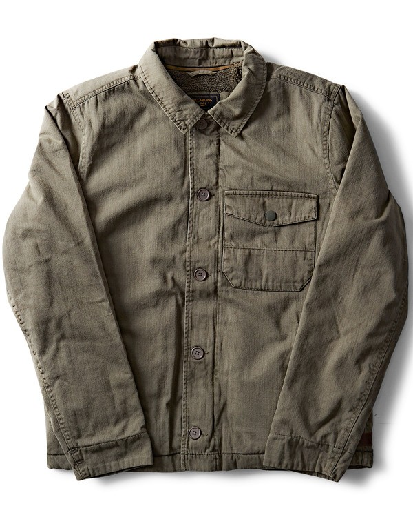 0 Barlow Military Jacket Green M710QBBM Billabong