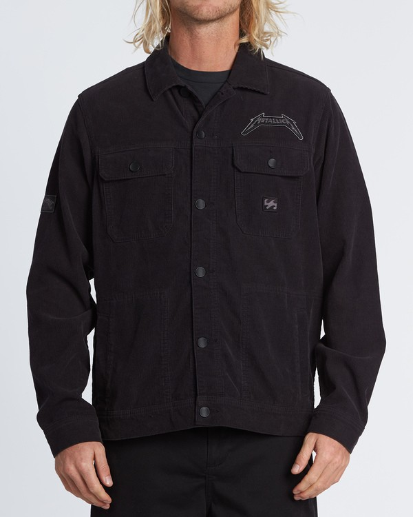 0 Black Album Jacket Multicolor M713WBBL Billabong