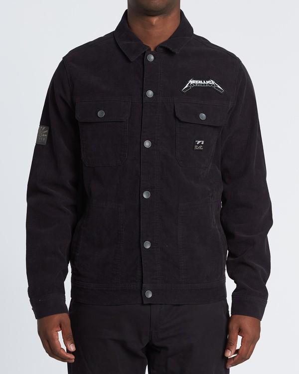 0 AI Metallica Jacket Black M7151BAI Billabong