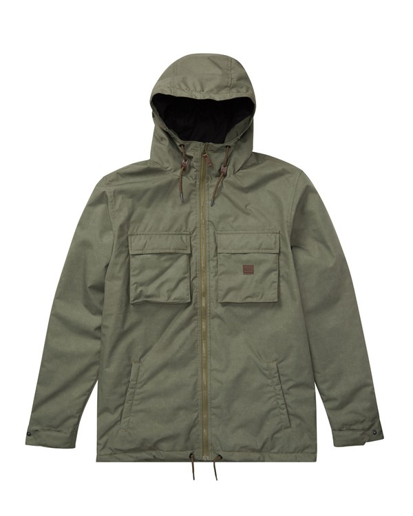 0 Matt Jacket Green M721QBMA Billabong