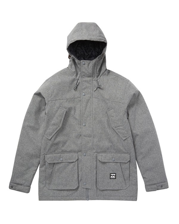 0 Alves 10K Jacket Grey M723QBAV Billabong