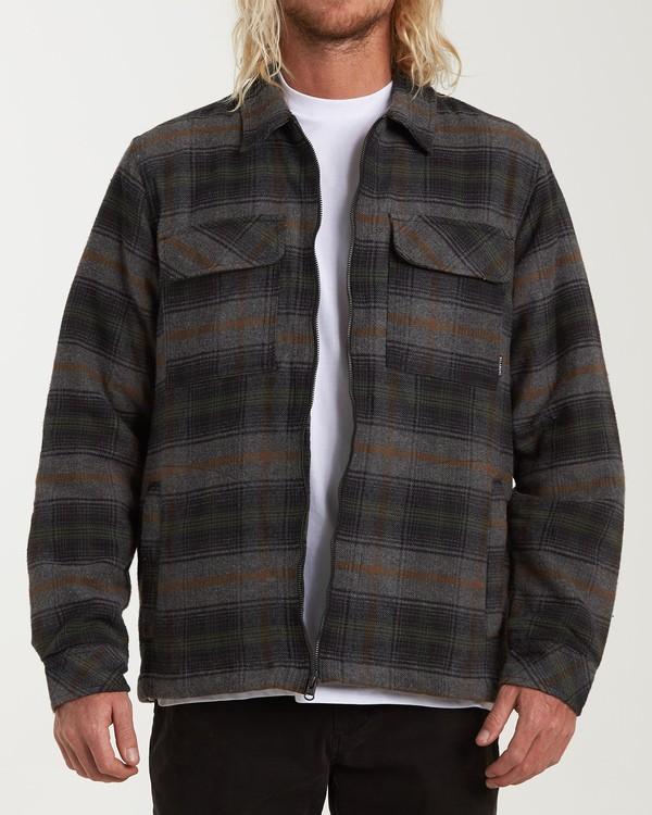 0 Barlow Zip Jacket Grey M735VBBZ Billabong