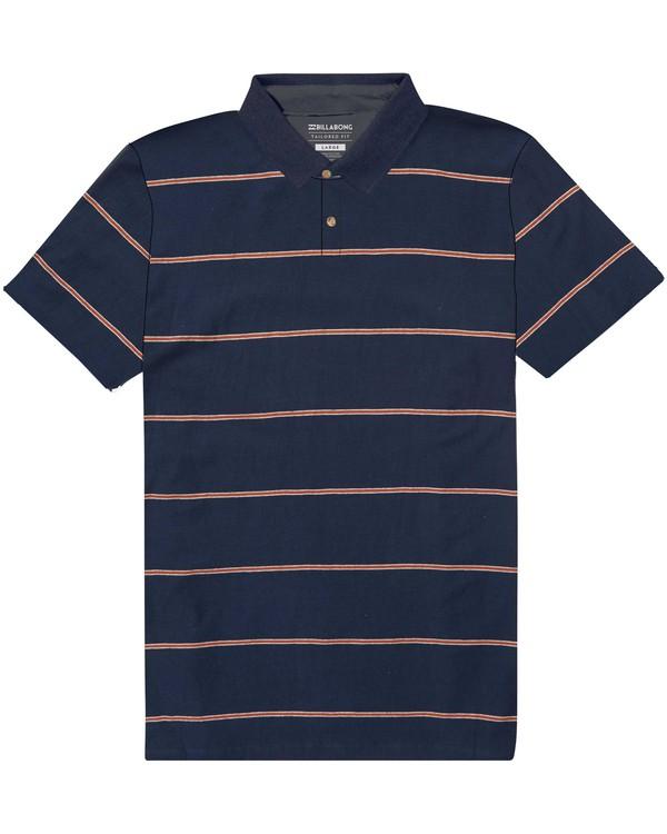 0 Die Cut Polo Shirt  M900PBDI Billabong