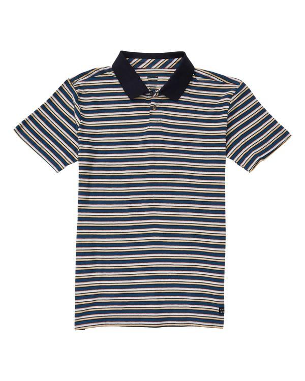 0 Die Cut Polo Shirt Blue M900TBDI Billabong