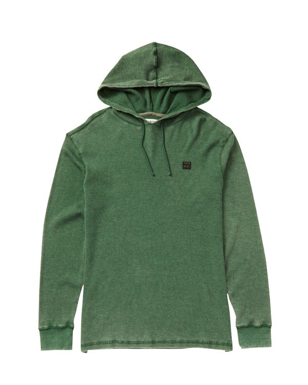 0 Keystone Pullover Hoodie Green M901LKEY Billabong
