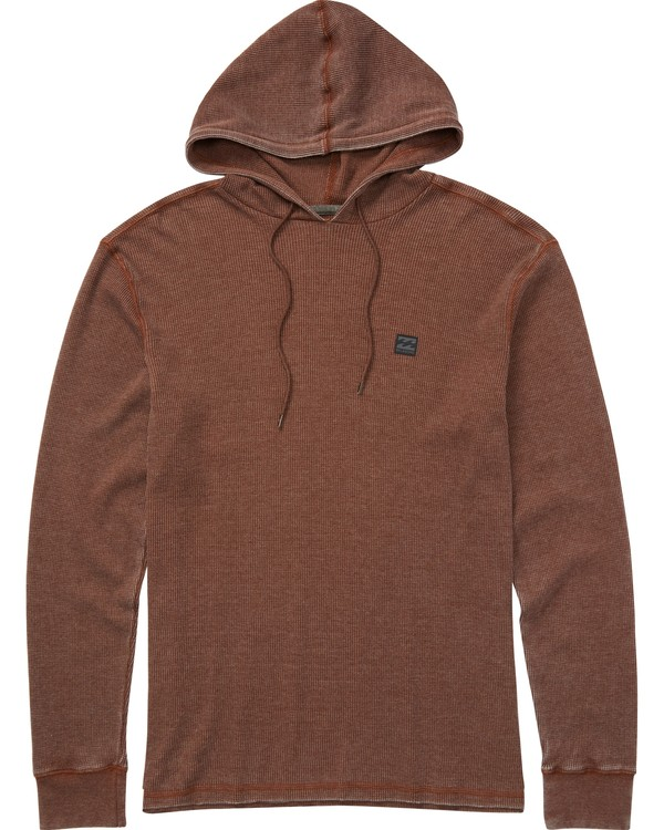 0 Keystone Pullover Hoodie Brown M901LKEY Billabong