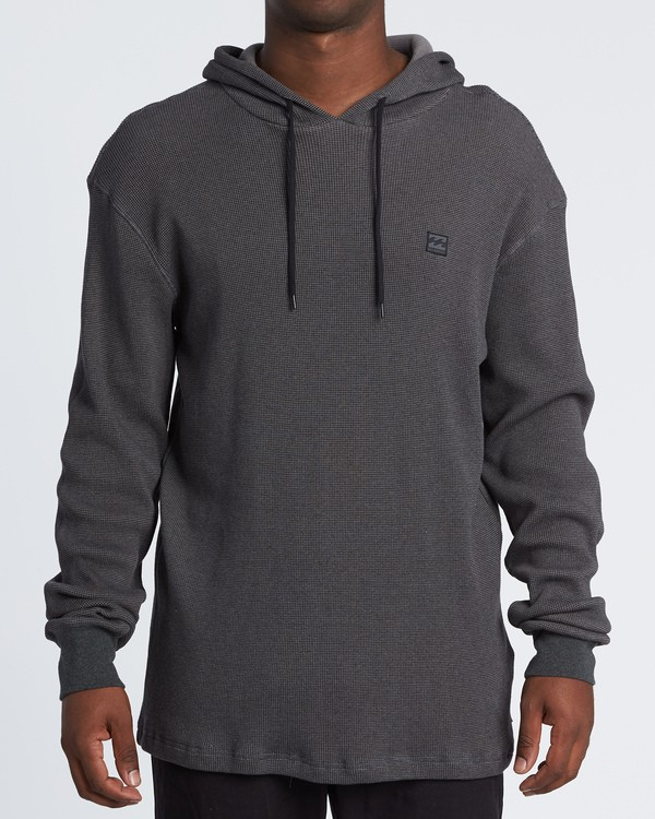 0 Keystone Pullover Thermal Hoodie Black M901VBKE Billabong