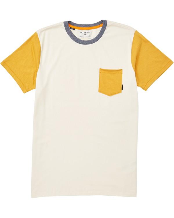 0 Zenith Short Sleeve Crew T-Shirt  M902JZEN Billabong