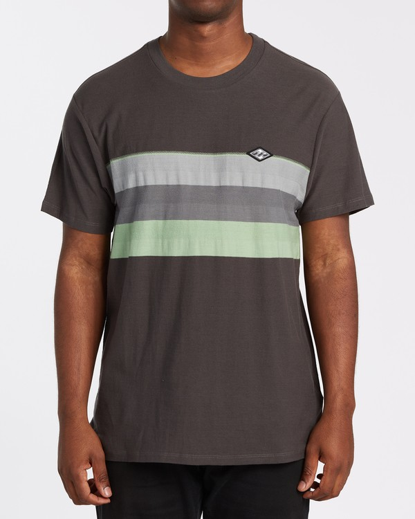 0 Spinner Crew T-Shirt White M9042BSP Billabong