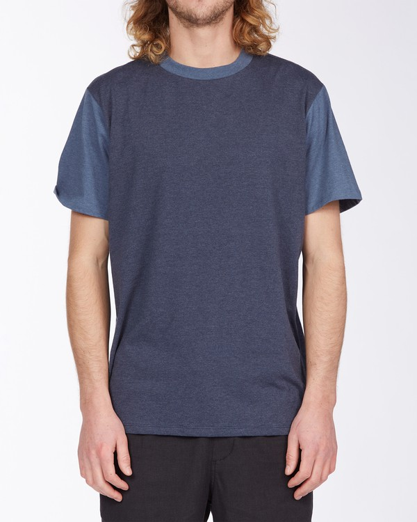 0 Zenith Short Sleeve T-Shirt Blue M9043BZE Billabong