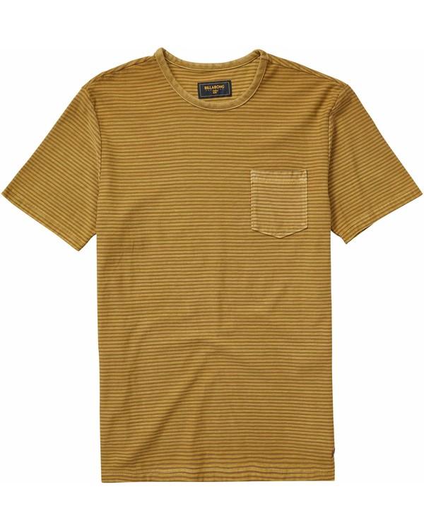 0 Stringer Short Sleeve Crew T-Shirt  M904NBST Billabong