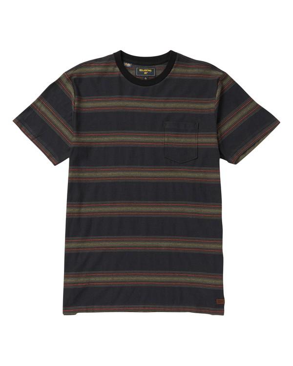 0 Chico Crew Striped T-Shirt  M904SBCH Billabong