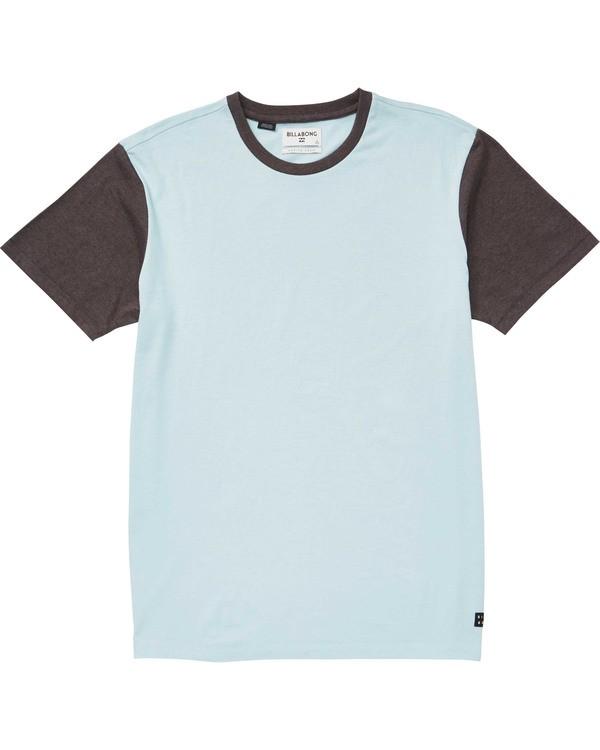 0 Zenith Short Sleeve Crew T-Shirt Blue M904TBZE Billabong