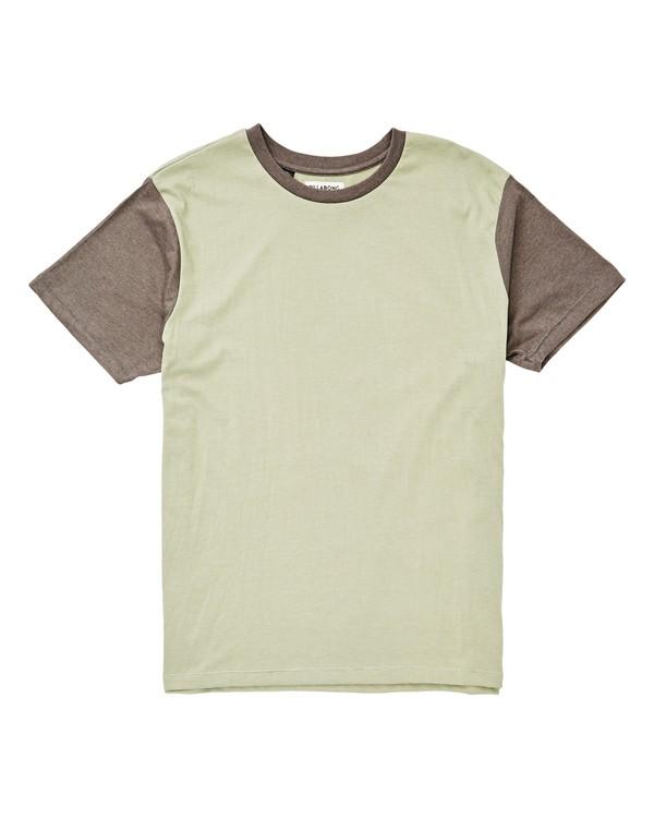 0 Zenith Short Sleeve Crew T-Shirt Green M904TBZE Billabong