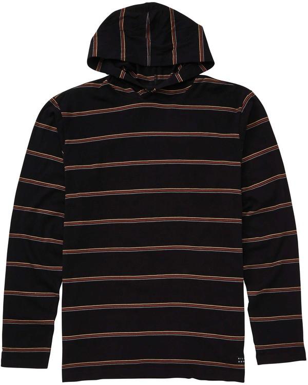 0 Die Cut Pullover Hoodie Black M906TBDP Billabong
