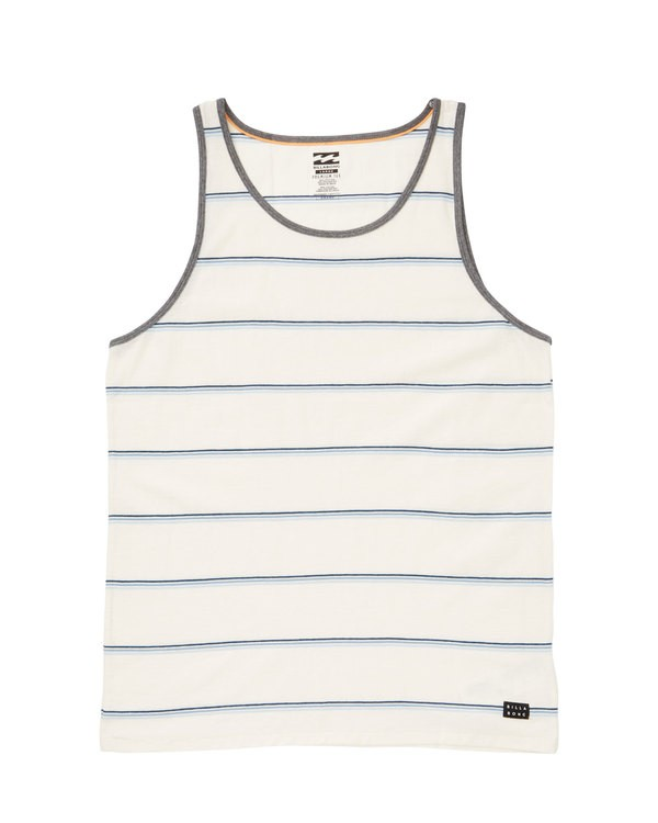 0 Die Cut Tank White M907TBDT Billabong