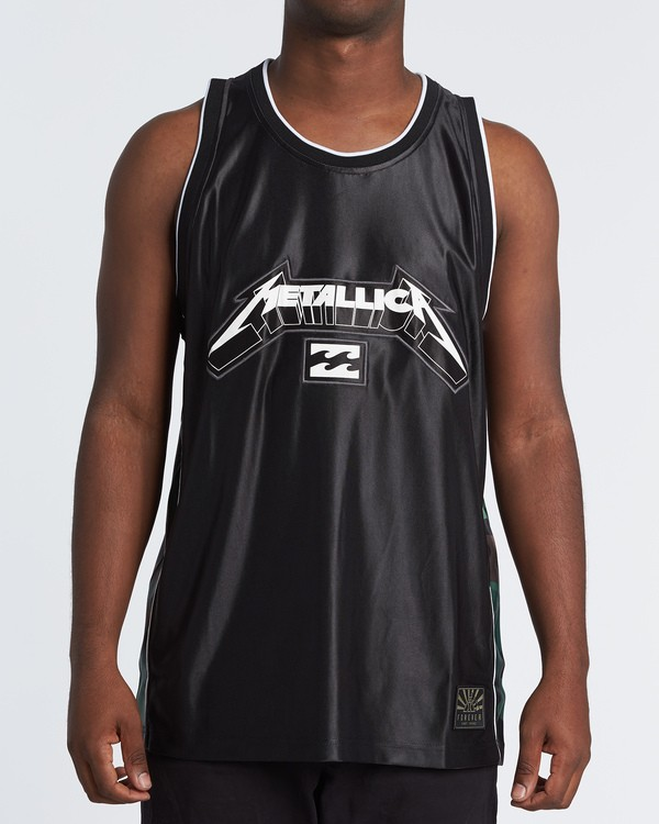 0 AI Metallica Jersey Black M9091BME Billabong