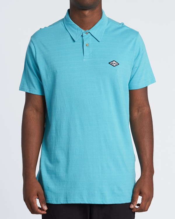 0 Schooled Polo Shirt Black M9181BSP Billabong