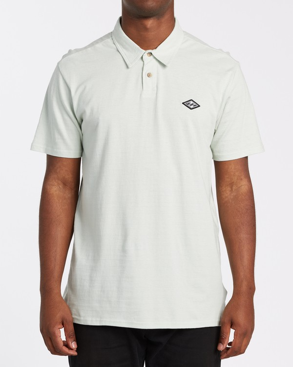 0 Schooled Polo Shirt Grey M9181BSP Billabong