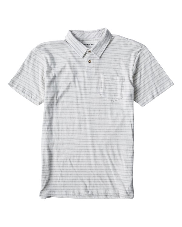 0 Standard Issue Polo Beige M918VBST Billabong