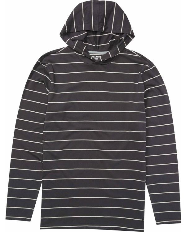 0 Die Cut Stripe Pullover Hoody  M976LDIL Billabong