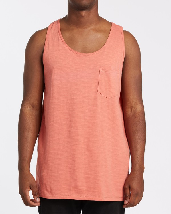 0 Mesa Slub Tank Orange M9851BMT Billabong