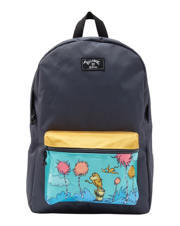0 Lorax All Day Backpack Black MABK2BLO Billabong