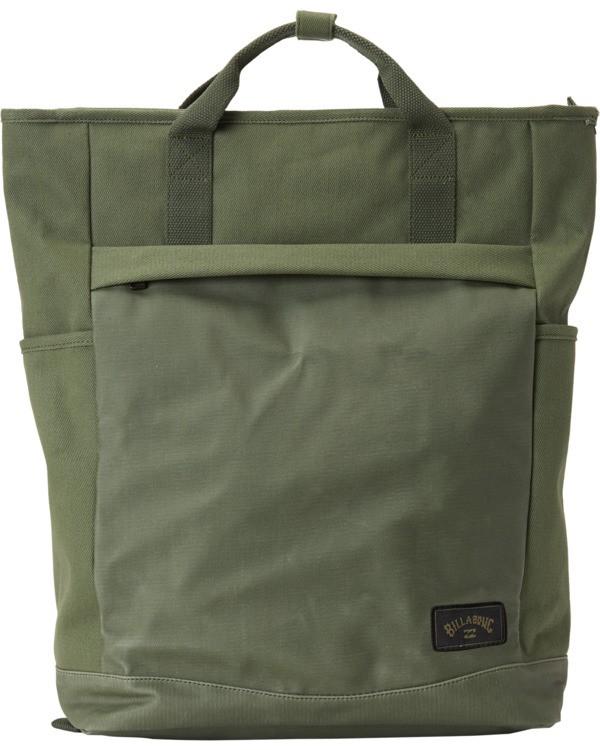 0 Pace Tote Backpack Green MABK3BPA Billabong