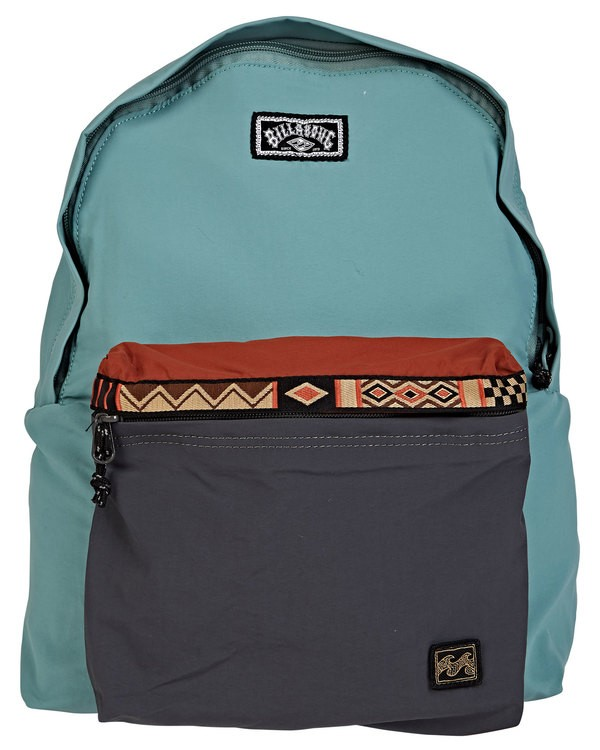 0 All Day Atlas Backpack Green MABKTBAP Billabong