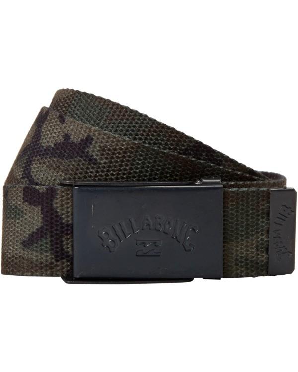 0 Cog Print Belt Black MABL3BCP Billabong