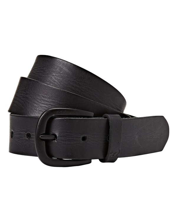 0 All Day Leather Belt Black MABLQBLE Billabong